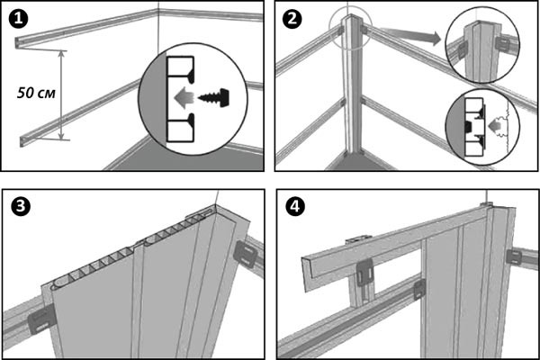 Как крепить панели в ванной комнате