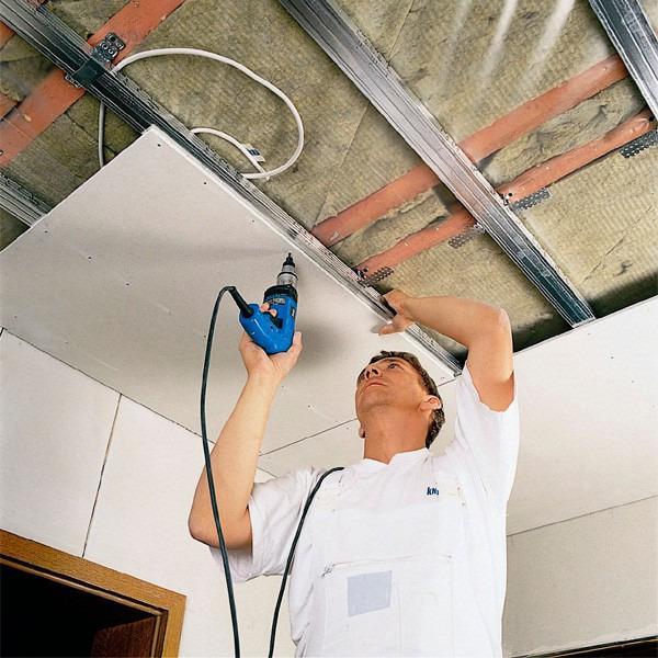 Сделать подвесной потолок из своими руками