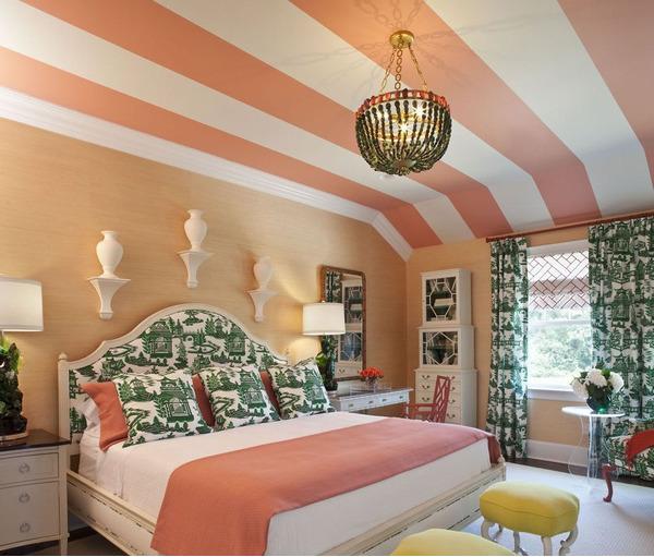 Способы покраски потолка