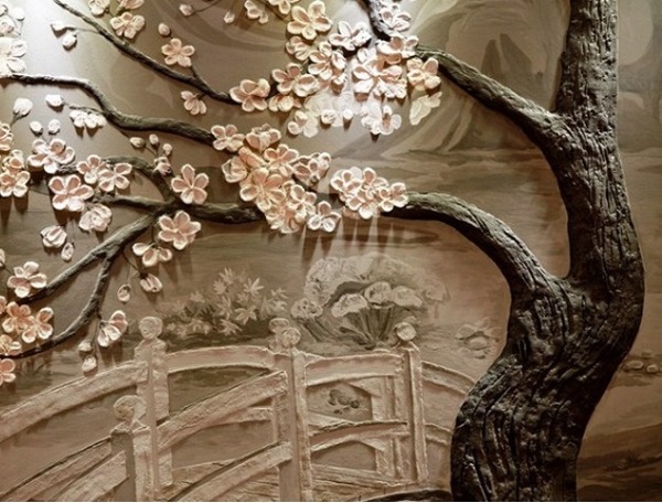 2388 Барельеф на стене (гипсовый, декоративный): как сделать своими руками новичку, эскизы,