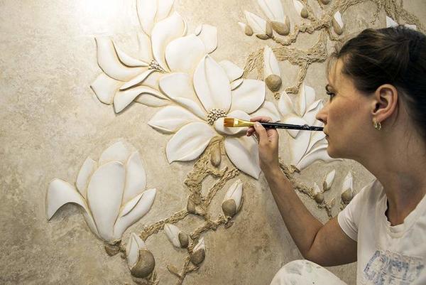 88 Барельеф на стене (гипсовый, декоративный): как сделать своими руками новичку, эскизы,
